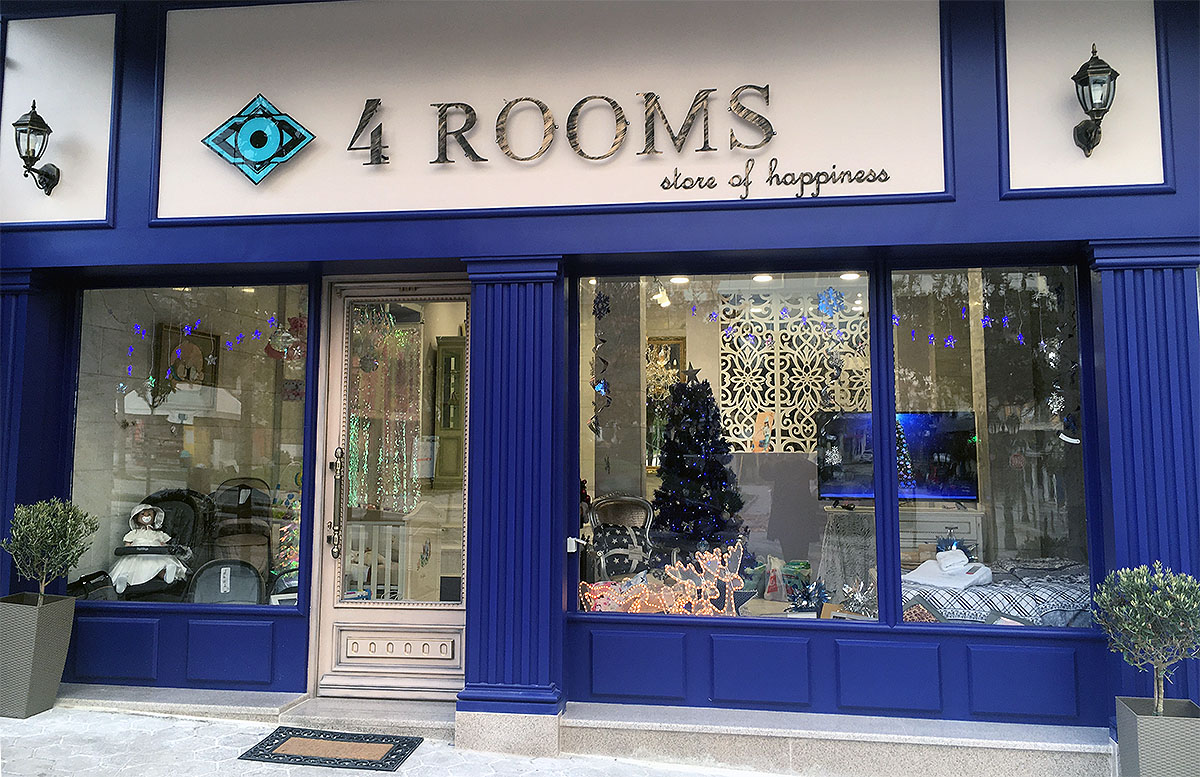 4 ROOMS store of happiness